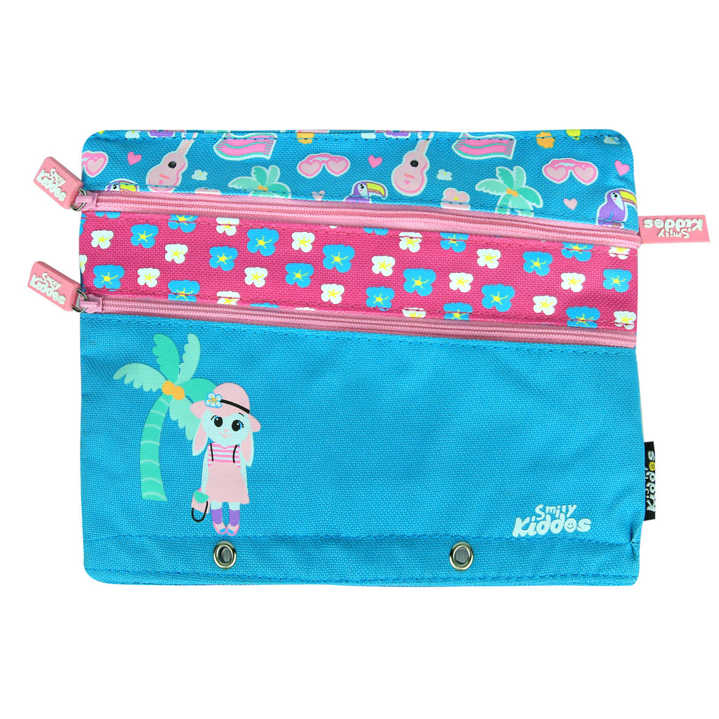 Fancy A5 Pencil Case Light Blue