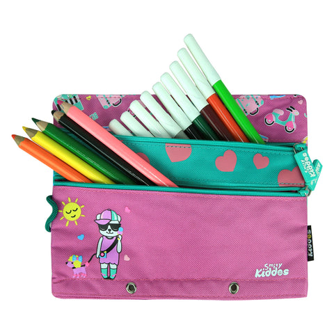 Fancy A5 Pencil Case Purple