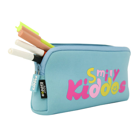 Fancy Penguin Pencil Case Light Blue