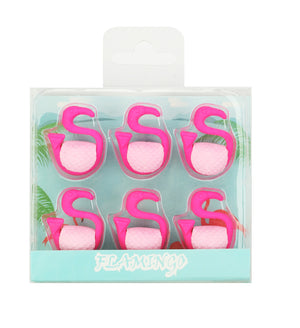 Flamingo Eraser Set