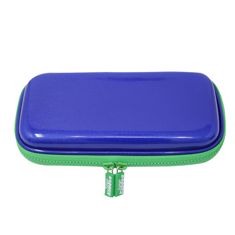 Image of Motor Racing Small Pencil Case Blue