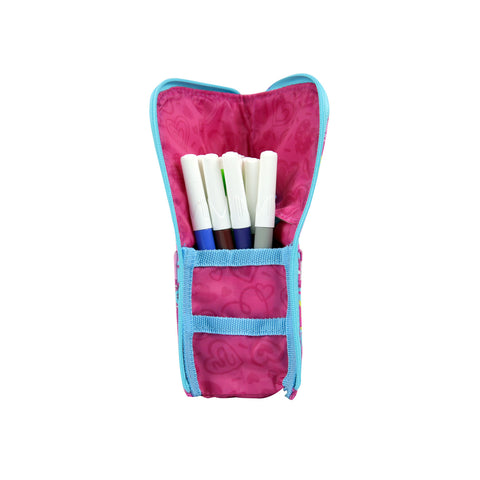Smily Pen Holder Case Pink