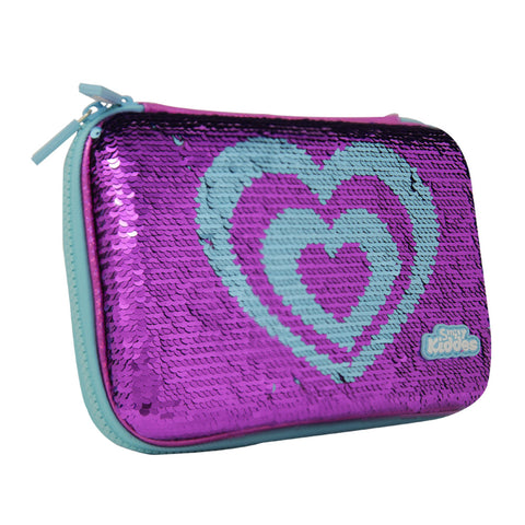 Smily Bling Candy Pencil Case Purple