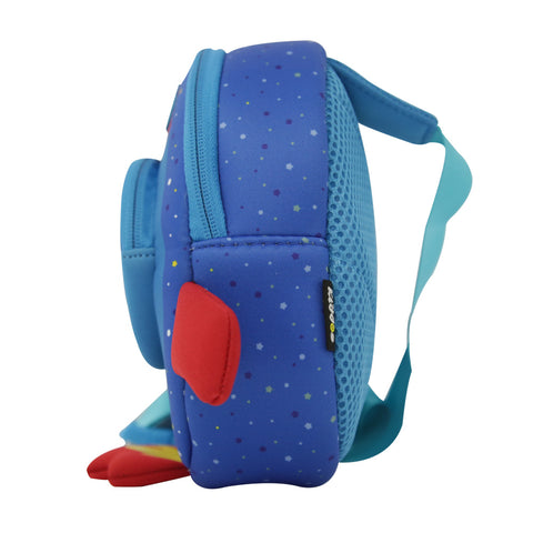 Smily Space Go Out Bag Blue