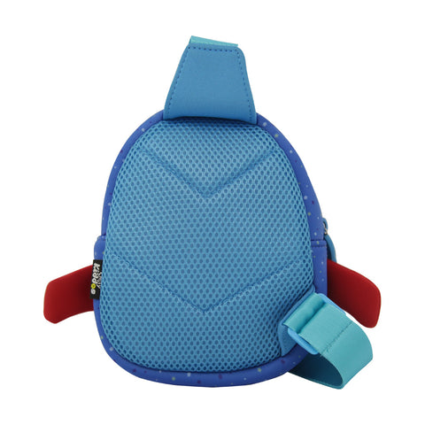 Image of Smily Space Go Out Bag Blue