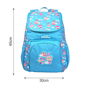 Smily U Shape Backpack Light Blue