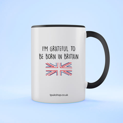 Grateful Britain Two Toned Mug