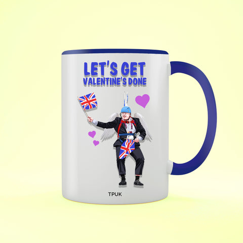Let's get Valentine's DONE! - Valentine's Day Two Toned Mug
