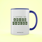 Support Forces Two Toned Mug