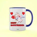 Best Boyfriend - Valentine's Day Two Toned Mug