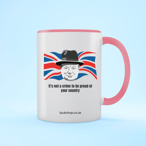 Proud Country Two Toned Mug