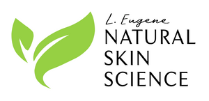L. Eugene Natural Skin Science logo, natural skin care, natural skin science, natural skin products, natural products, natural face products, best natural products, cruelty free skin care, organic skin care products, organic skin care, black owned