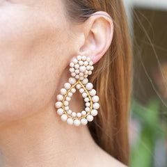 Margo Earrings in Black