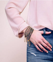 Glenn Wrap Bracelet in Gold