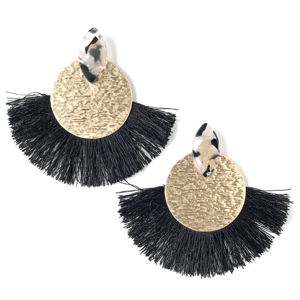 Rhapsody Earrings in Black