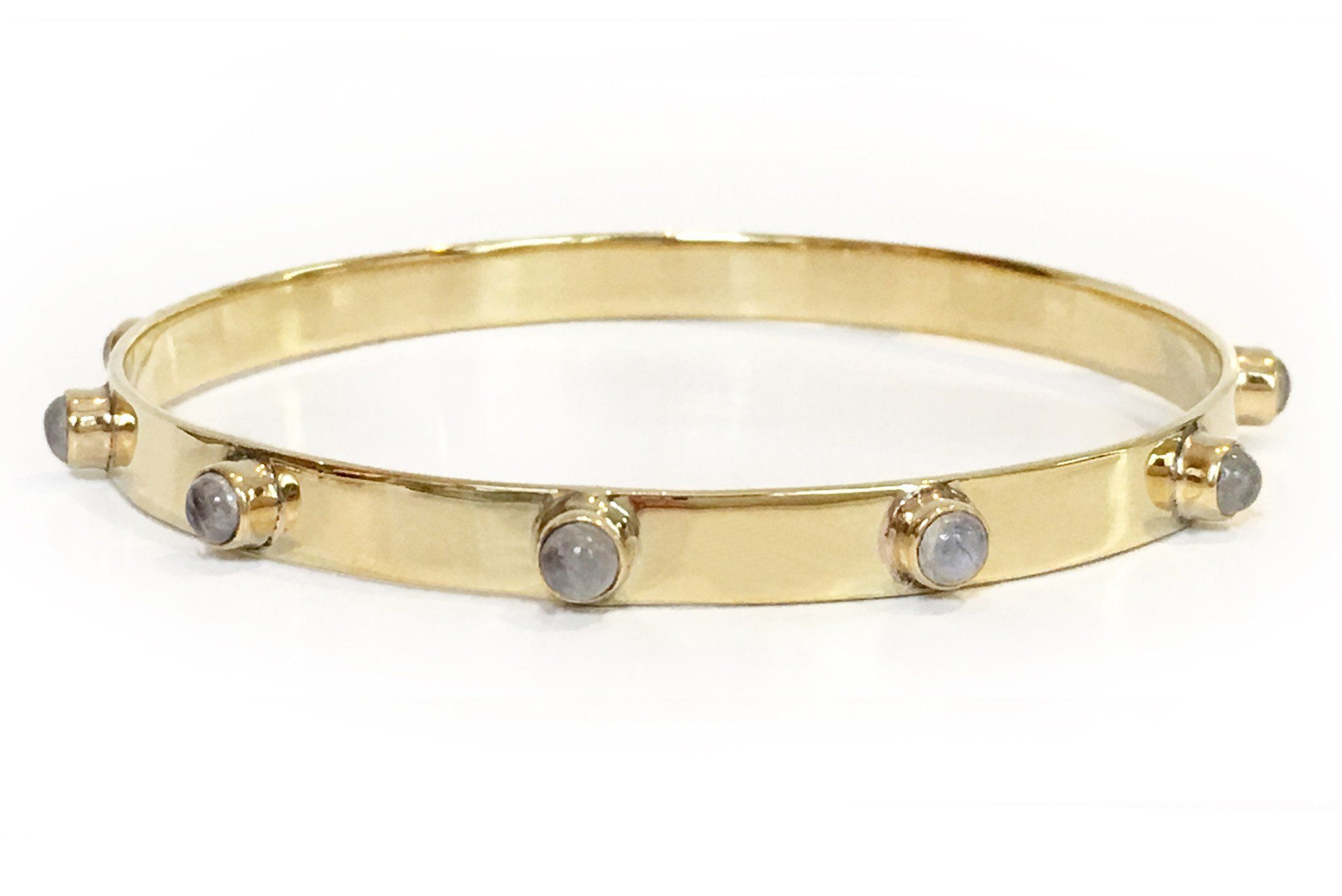 Graham Bangle in Moonstone