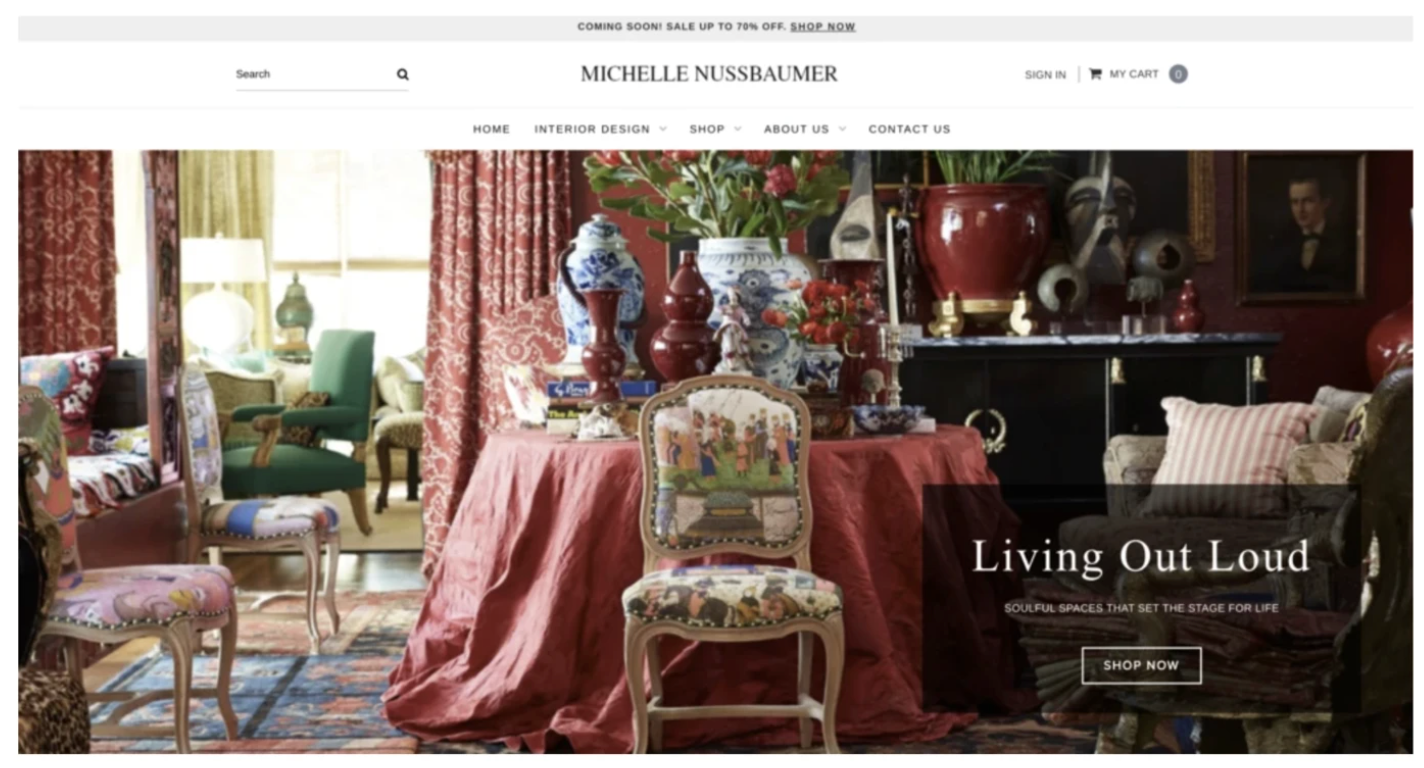 Welcome to The New Michelle Nussbaumer/ Ceylon et Cie Website