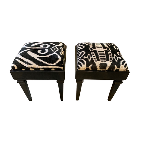 Mary Rae Lacquered Stool