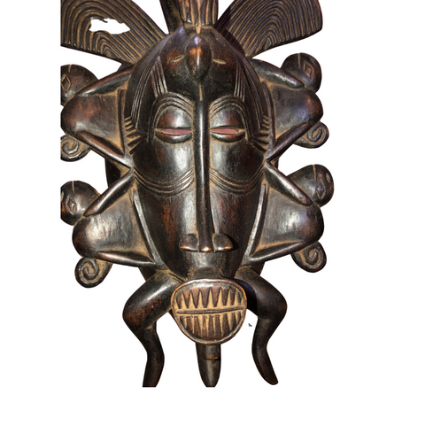 1970's African Cenufo Mask