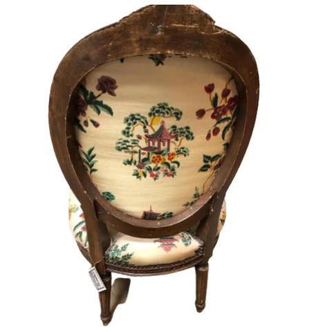 19th C. Petite French Fireside Chairs