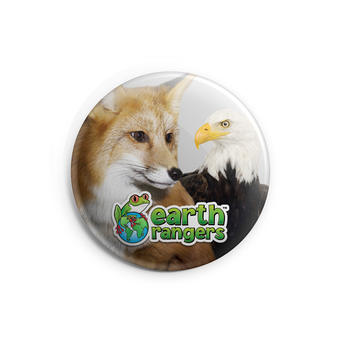 Animal Ambassador Button - 2.25""