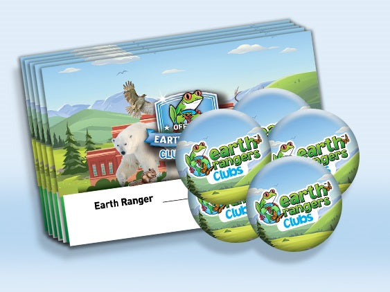 Cartes de membre du club Earth Rangers