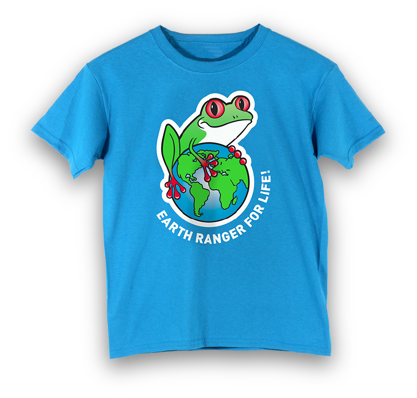 Earth Ranger for Life Youth T-Shirt