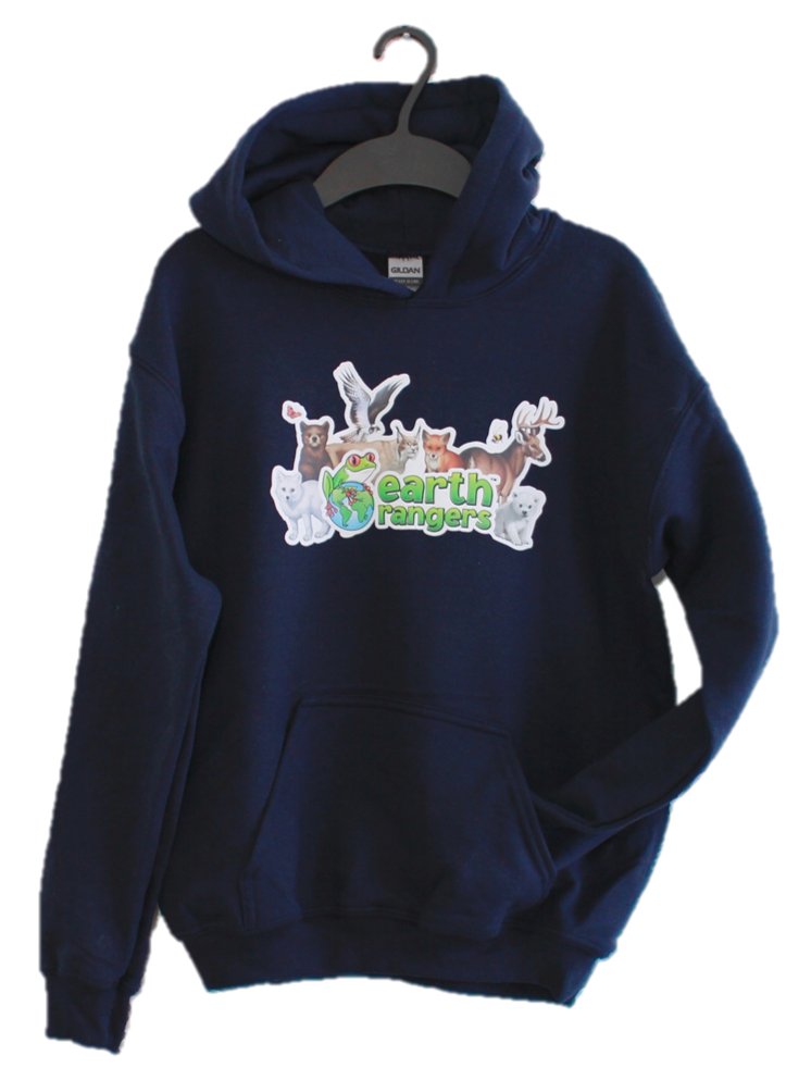 NOUVEAU! Sweat à capuche Earth Rangers Forest Friends pour enfant