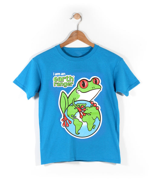 Earth Rangers Frog Youth T-Shirt