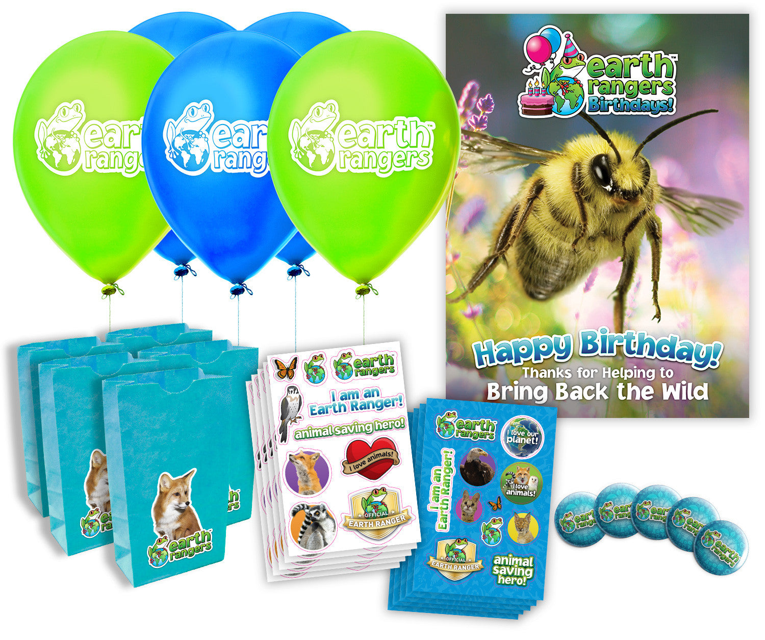 Bees and Other Pollinators Party Kit