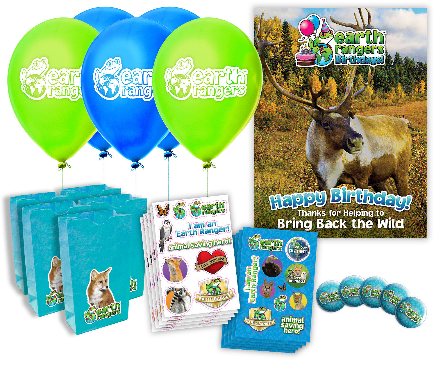 Woodland Caribou Party Kit