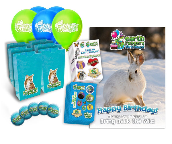 Snowshoe Hare Party Kit