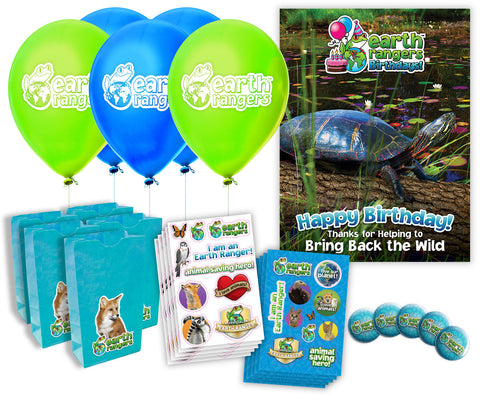 Midland Painted Turtle Party Kit