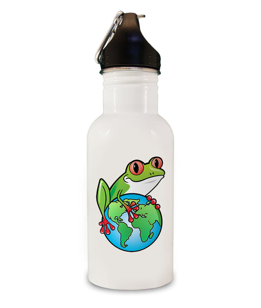 Earth Rangers Water Bottle - Blue with Gold Shield/I Am An Earth Ranger