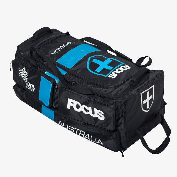 Large Tri Wheelie Bag - Blue