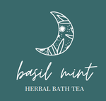 Herbal Bath Tea- Basil + Mint