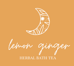 Herbal Bath Tea- Lemon+Ginger
