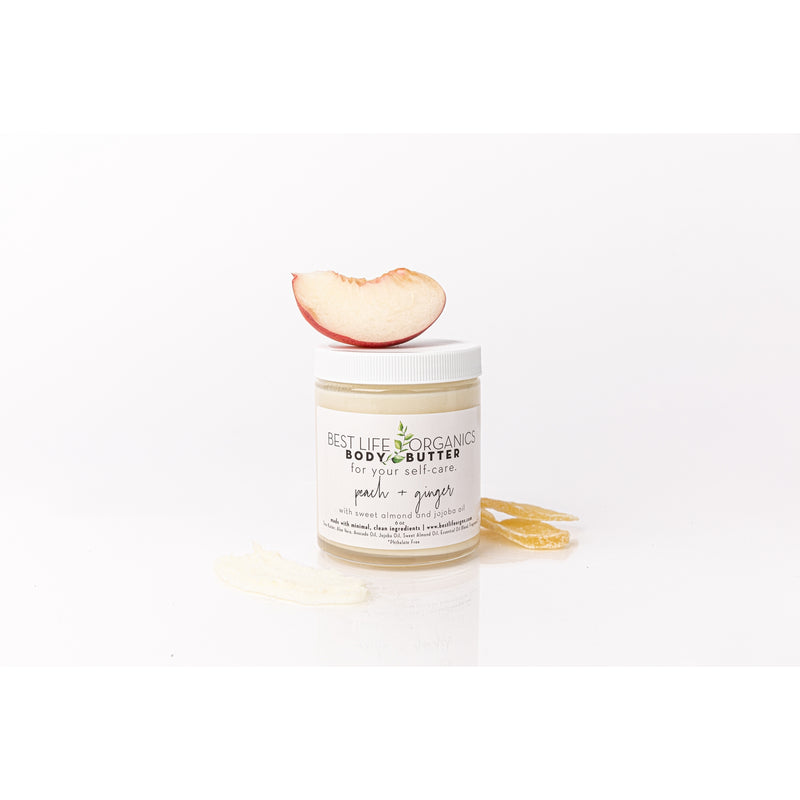 Peach + Ginger Body Butter