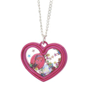 Frozen Anna Shaker Heart Necklace