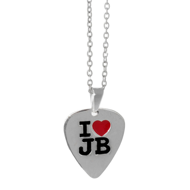 Justin Bieber Jb Plectrum Necklace By Gioia