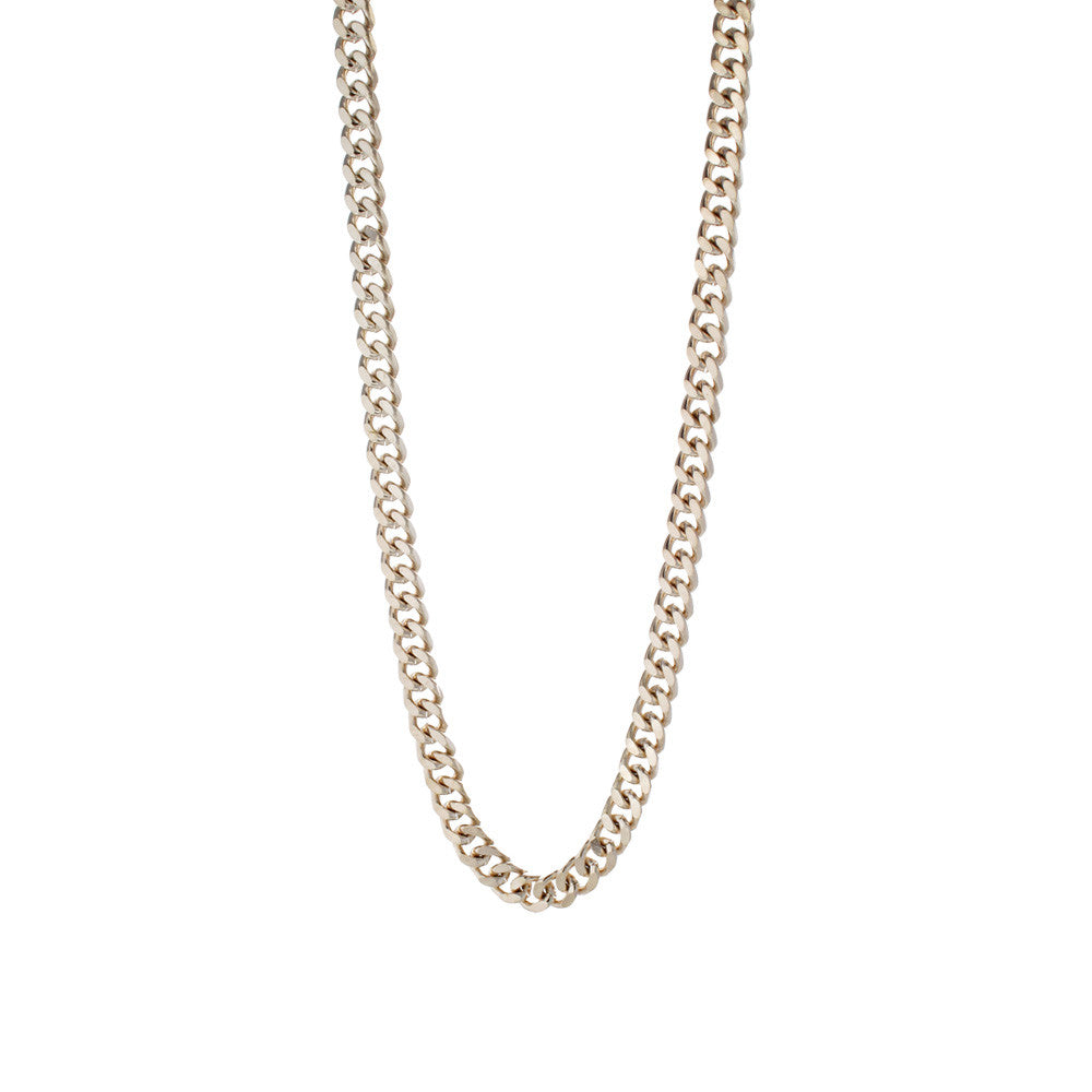 "Joey Essex Rose Gold Curb Chain (26"")"