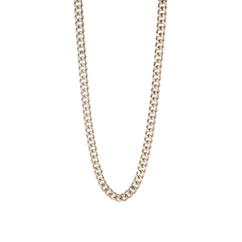"Joey Essex Silver Curb Chain (26"")"