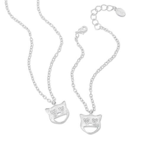 emoji® OK Necklace & Bracelet Set
