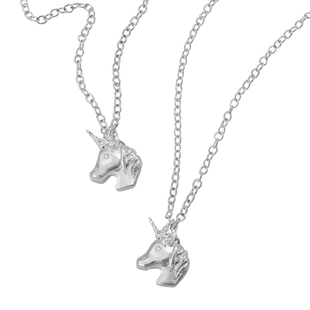 emoji® Unicorn Necklace & Bracelet Set