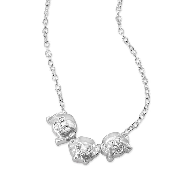 emoji® Monkeys Necklace