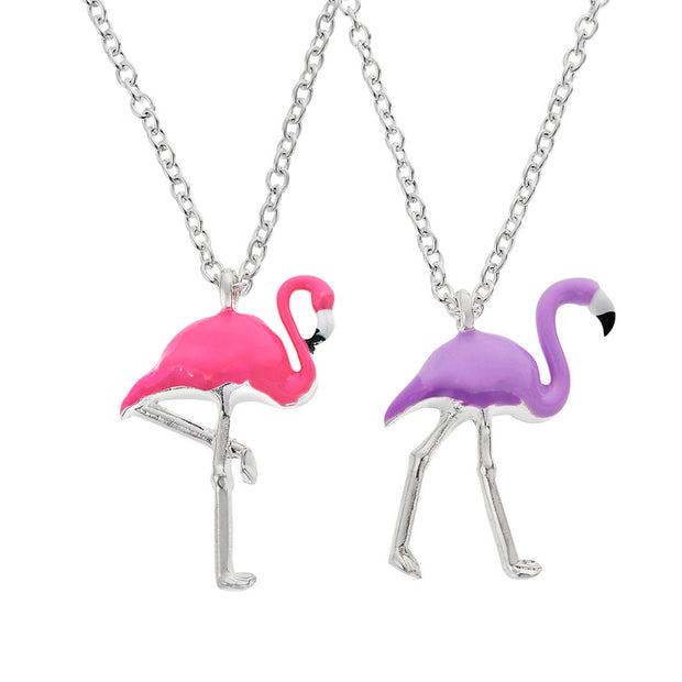 emoji® Flamingo Necklace Set