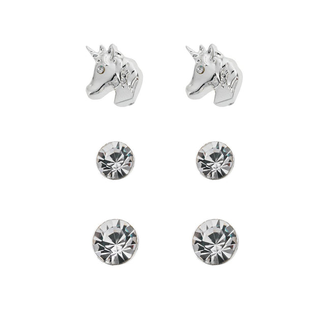 emoji® Unicorn Earrings Set