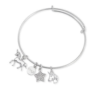 emoji® Unicorn Charm Bangle
