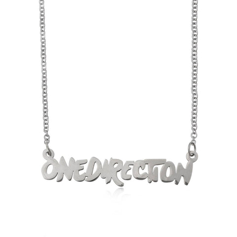 One Direction Louis Heart Necklace and Earring Set