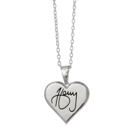 One Direction Liam Logo Disc Necklace
